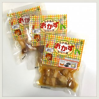 レトルト惣菜 豚の角煮セット(3個セット) 【常温便】