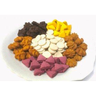 40周年記念 サクサク粉(サゴ椰子澱粉)クッキー(卵・ミルク・小麦不使用)6個セット 少しお得です。11月30日迄のキャンペーンです。