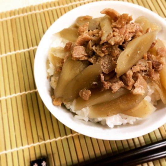 【30%OFF】賞味期限20.5.12レトルト惣菜 豚肉とごぼう煮込み 【常温便】