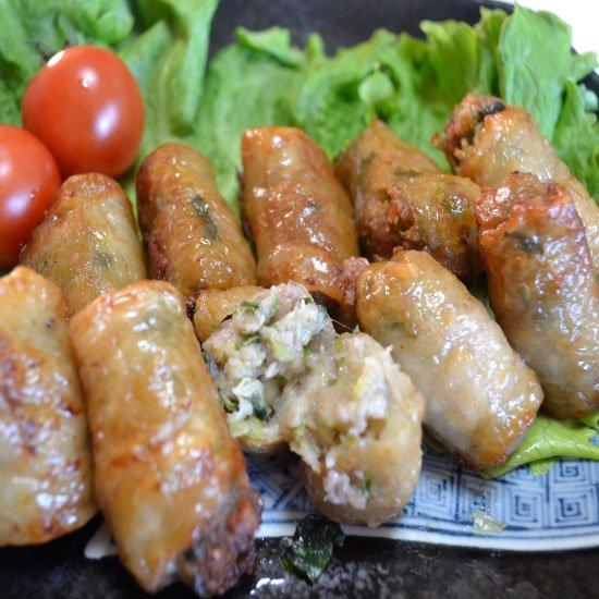 鶏皮餃子(20個)