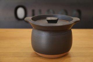 馬場勝文 ご飯炊き鍋(3合・黒色)