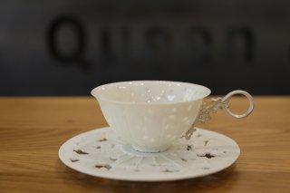 フクオカタカヤ komorebi teacup&saucer(枝)
