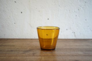 Nuutajarvi [Kartio] Pressed Glass (Yellow) / ヌータヤルヴィ [カルティオ] (イエロー)