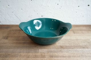 <img class='new_mark_img1' src='https://img.shop-pro.jp/img/new/icons8.gif' style='border:none;display:inline;margin:0px;padding:0px;width:auto;' />Arabia [Kilta] Bowl with Handle (Green) / アラビア [キルタ]  取っ手付きボウル(グリーン)