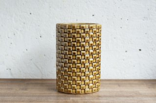 Arabia [Harlekiini] Flower Vase / アラビア [ハレキーニ]  フラワーベース (イエロー)