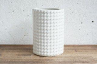 Arabia [Harlekiini] Flower Vase / アラビア [ハレキーニ]  フラワーベース  (ホワイト)