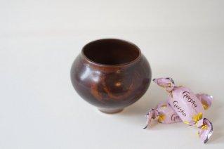 Arabia [Annikki Hovisaari]  Small Vase (Brown) / アラビア [アンニッキ・ホヴィサーリ] スモールベース (ブラウン)