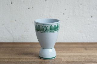 <img class='new_mark_img1' src='https://img.shop-pro.jp/img/new/icons8.gif' style='border:none;display:inline;margin:0px;padding:0px;width:auto;' />ARABIA  Handpainted Cup (Green Flower) / アラビア ハンドペイントカップ (フラワー柄・グリーン)