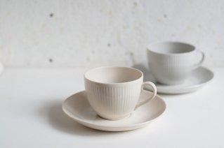 Arabia [Sointu] Cup&Saucer (Beige) / アラビア [ ソインツ] カップ&ソーサー (ベージュ)・カイフランク