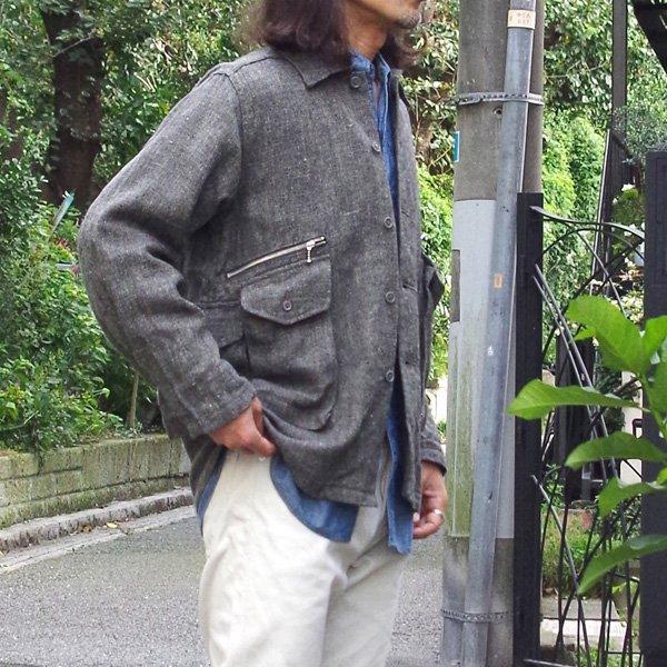 CORONA(コロナ) / 6 POCKET CARGO SHIRT / w/WINTER LINEN TWIL/シャツジャケット