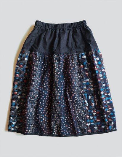 刺し子スカート