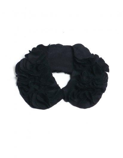 花びら襟 Black