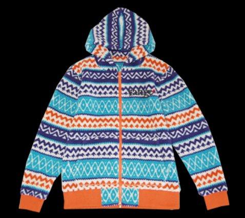 range boa fleece zip