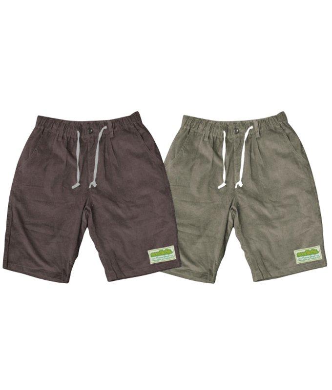 summer corduroy easy shorts