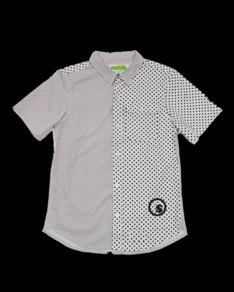 dot print s/s shirts