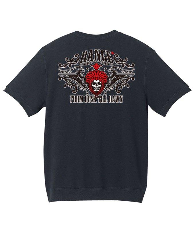 rock skully native s/s crew sweat