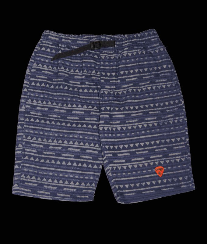 native pattern denim easy shortsの商品イメージ
