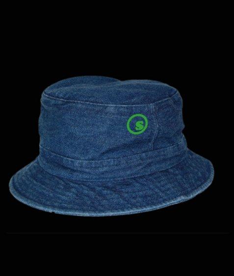 denim pocket hat