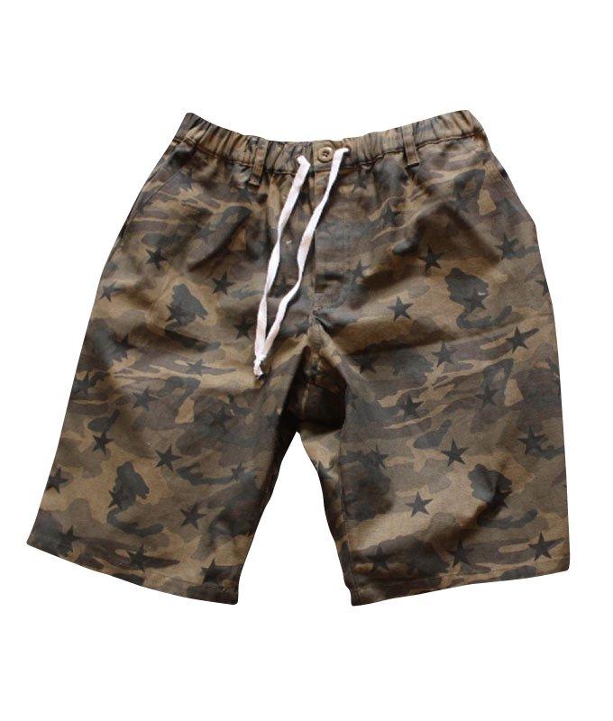 camo with print easy shortsの商品イメージ