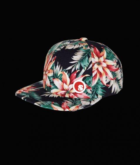 sds Hawaiian snap back cap