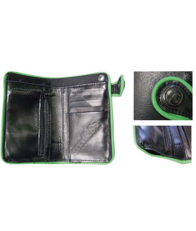 s-dot concho leather wallet