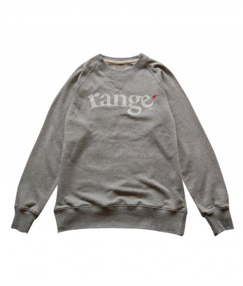range logo raglan crew sweat