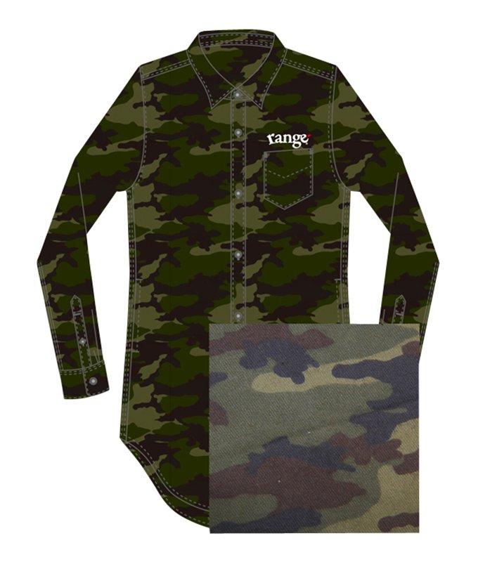 long length camo shirts