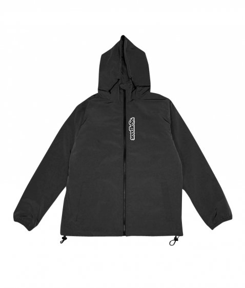 sd zip up quilted jkt