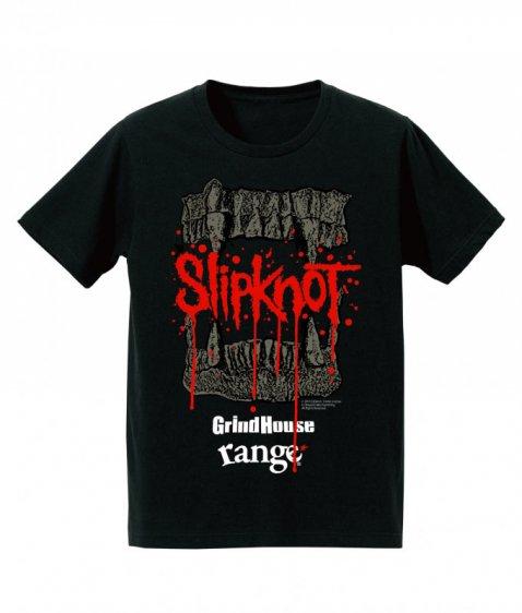 GrindHouse × range × SLIPKNOT  Special Limited Tシャツ