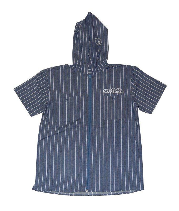 zip up hoody shirts S/S versionの商品イメージ