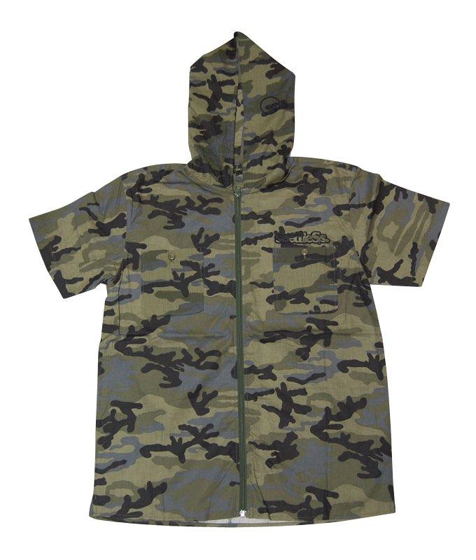 zip up hoody shirts S/S version