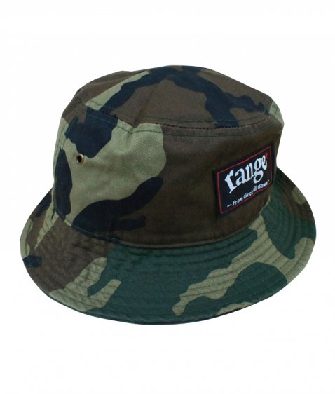 rg newhattan camo bucket hat