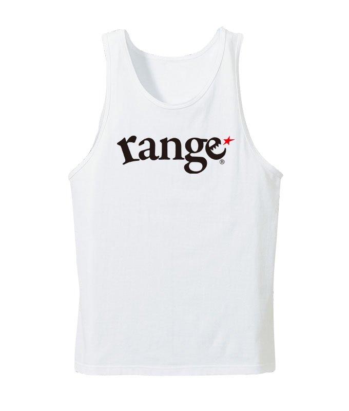 range logo tank topの商品イメージ