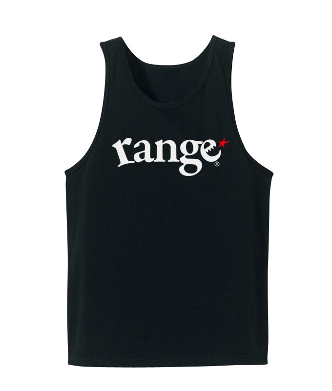 range logo tank top