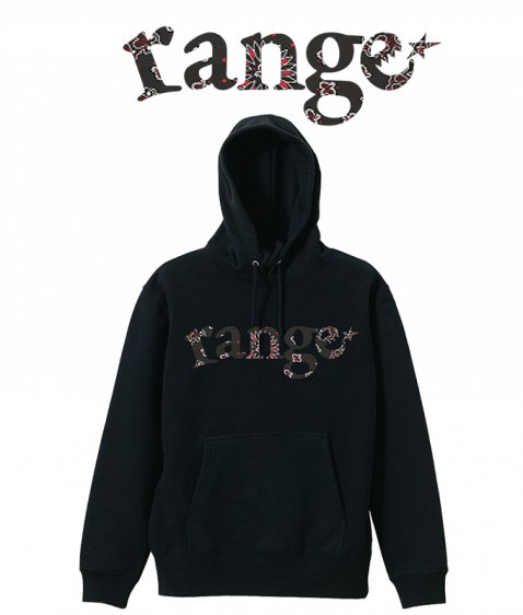 bandanna addict pull over hoody 12oz