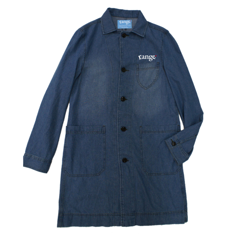 rg long length denim shirts