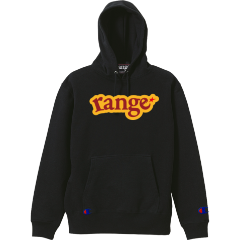 champion college logo pull over hoody