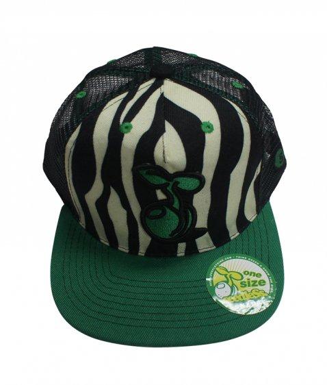 zebra mesh cap
