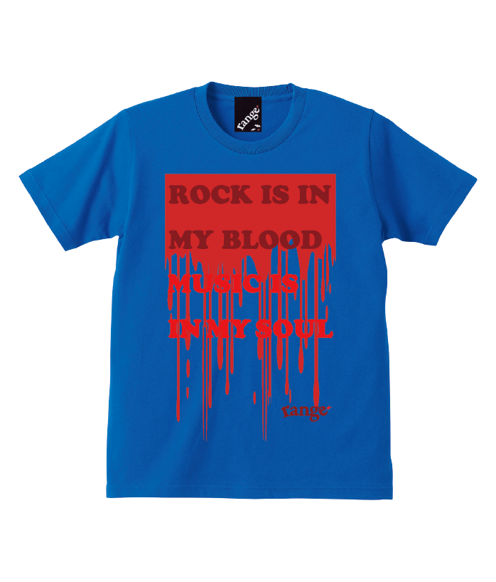 ROCK IS IN MY BLOOD s/s teeの商品イメージ