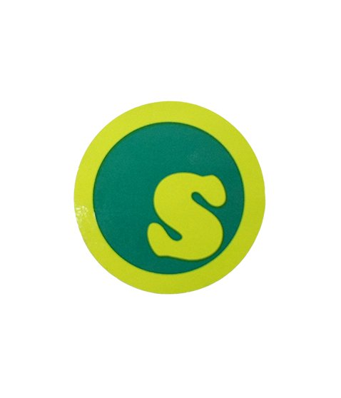 s-dot sticker 4.3
