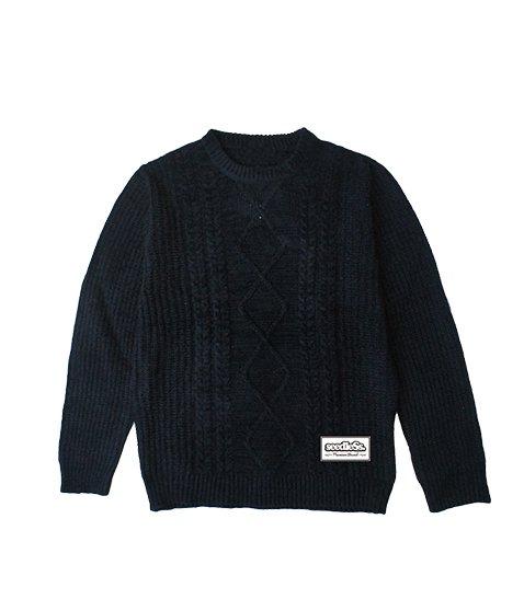 acrylic knit sweaterの商品イメージ
