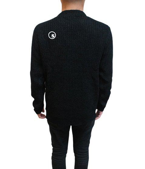 acrylic knit sweater