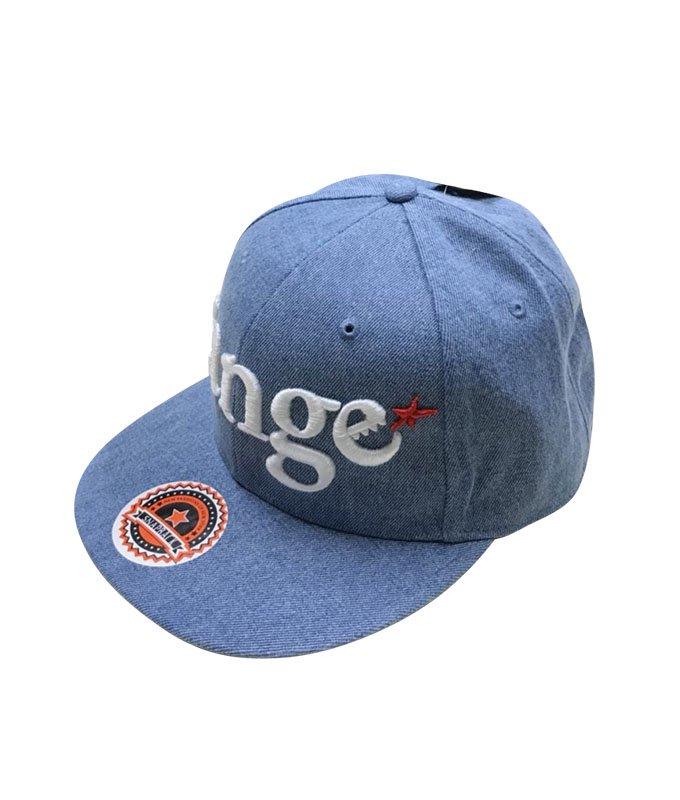 rg New Hattan denim snap back cap