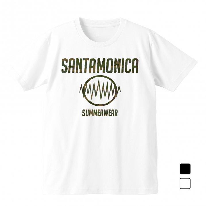SMSW logo tee(camo print)の商品イメージ