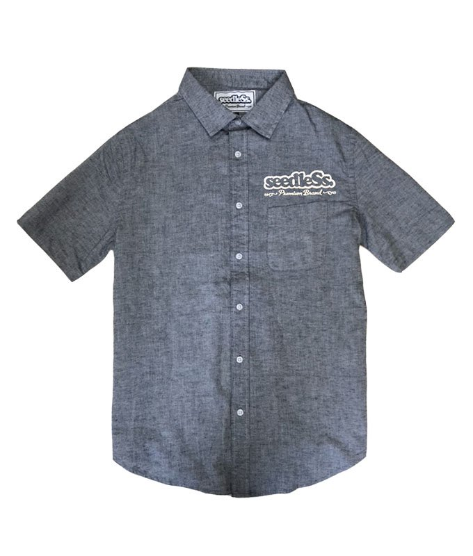 sd cotton hemp stretch shirtsの商品イメージ
