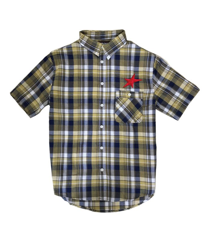 rg waffle check shirts