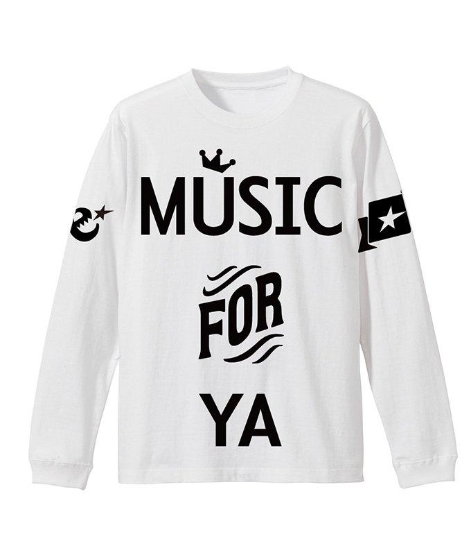 MUSIC FOR YA L/S teeの商品イメージ