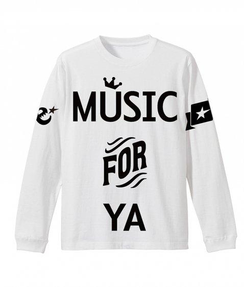 MUSIC FOR YA L/S tee