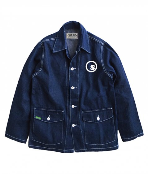 sd denim coverall jkt