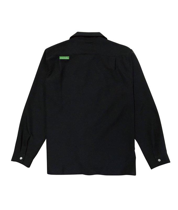 sd open collar LS shirts
